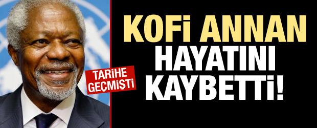 Kofi Annan Hayatını Kaybetti!