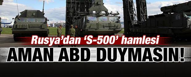 Rusya'dan S-500 Hamlesi!
