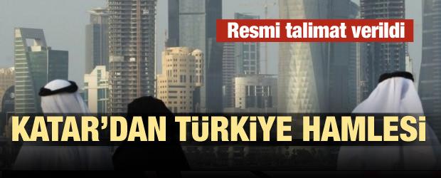 Talimat verildi! Katar'dan Türkiye hamlesi!