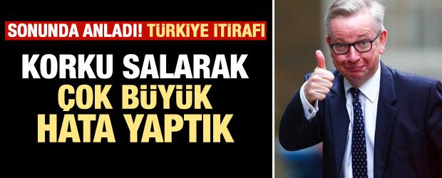 Türkiye itirafı! Çok büyük yanlış yaptık