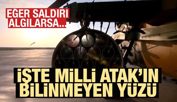 ATAK helikopterinin müthiş savunma mekanizması