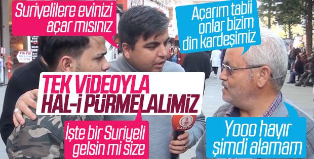 Antalya'da Suriyelileri Evinize Alır Mısınız? Deneyi