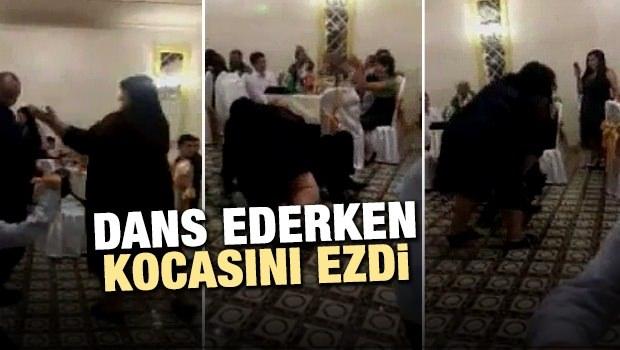 Dans Ederken Kocasını Ezdi!