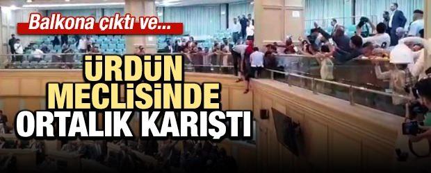 Ürdün'de mecliste intihar girişimi