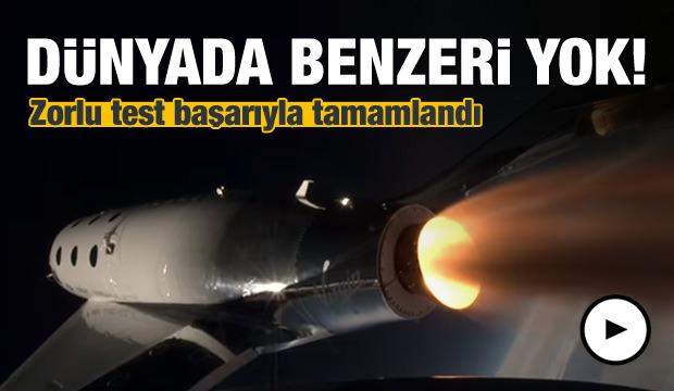 Sesten Hızlı Yeni Uzay Gemisi Test Edildi