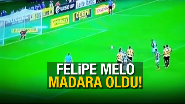Felipe Melo madara oldu!