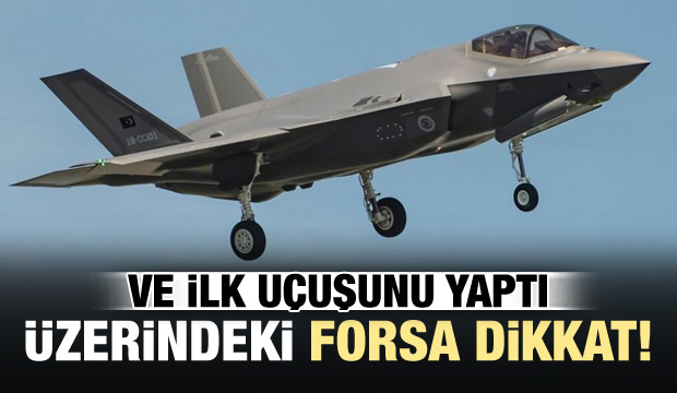 Türk F-35'i İlk Uçuşunu Yaptı