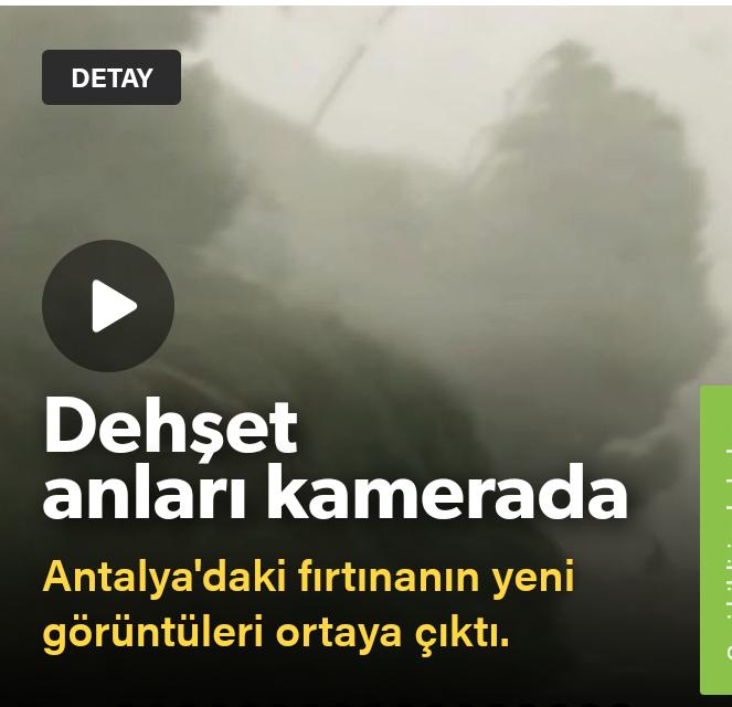 Fırtına otoyolda yakaladı: Ağaçlar üzerine devrildi