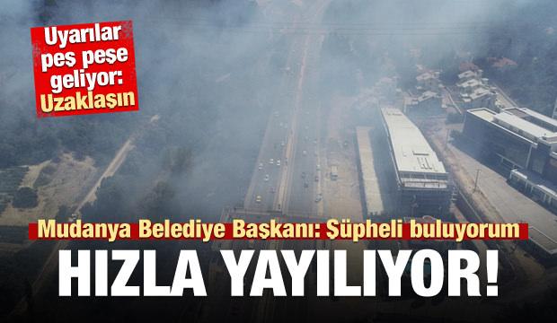 Bursa'da Korkutan Yangın! Çok Sayıda Ekip Bölgede