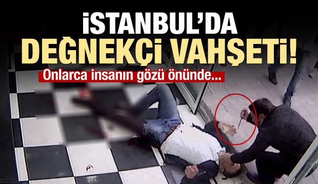 İstanbul'da Değnekçi Vahşeti!