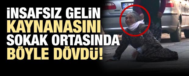 Bursa'da Alzheimer Hastası Kaynanasını Sokak Ortasında Feci Şekilde Dövdü!