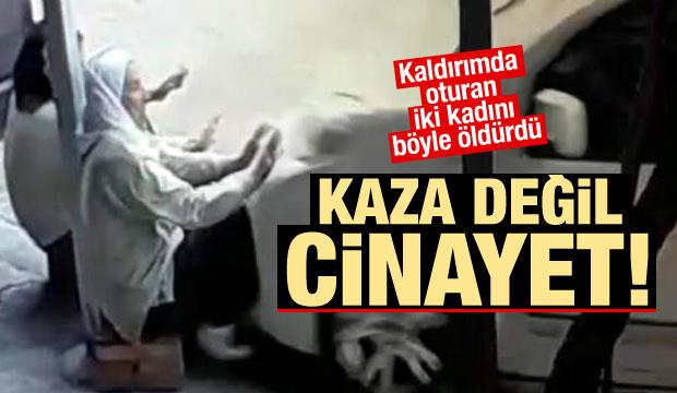 Ankara'da hızlı trenin kaza anı videosu