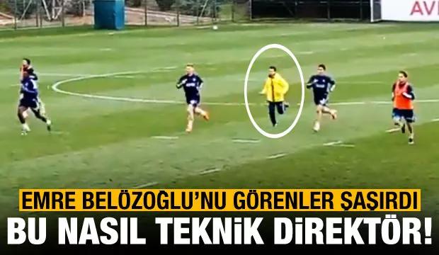 Emre Belözoğlu'nu Görenler Şaşırdı! Bu Nasıl Teknik Direktör...