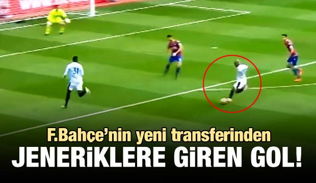Fenerbahçe'nin yeni yıldızı Ayew'den harika hareketler