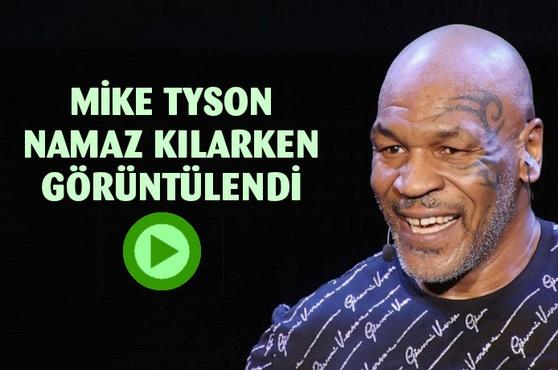 ABD'li Boksör Mike Tyson ile İsveçli Boksör Badou Jack beraber namaz kıldıkları video olay oldu