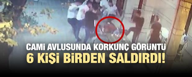 Bursa'da Cami Avlusunda Bıçaklı Kavga: 1 Yaralı