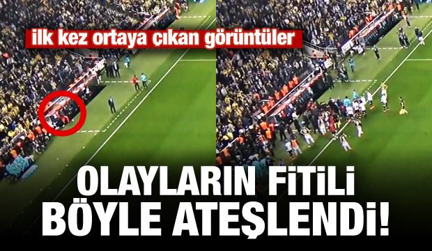 İşte Fenerbahçe - Beşiktaş Maçın'da Olayların Fitilini Ateşleyen Anlar