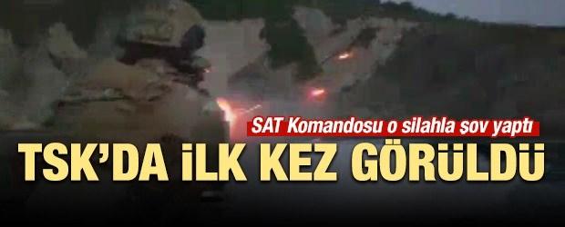 Sat Komandosu'ndan ''Mini Gun'' şov