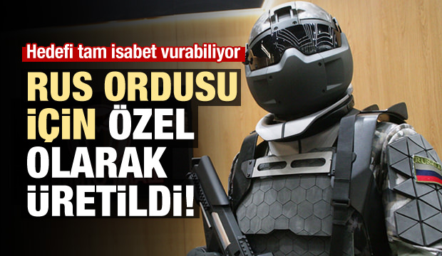 Rus Ordusuna Robotik Kamuflaj