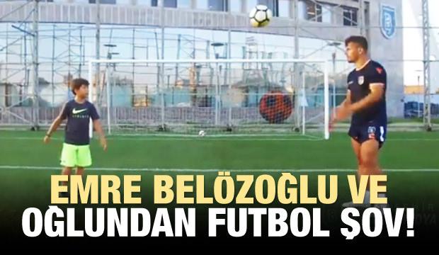 Emre Belözoğlu Ve Oğlundan Futbol Şov