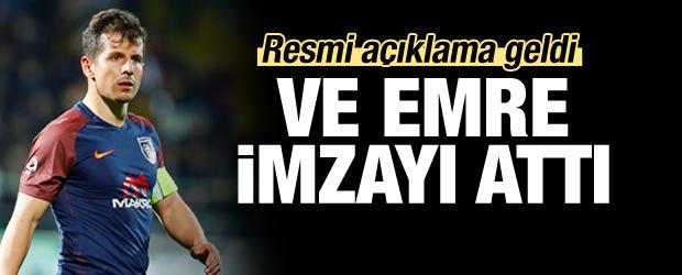 Emre Belözoğlu imzayı attı! Resmen...
