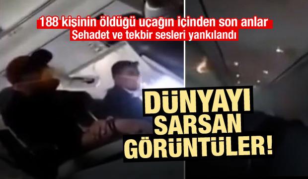 Dünyayı sarsan uçak kazasının görüntüleri ortaya çıktı!