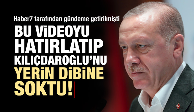 Erdoğan, Kılıçdaroğlu'nu Bu Video İle Rezil Etti!