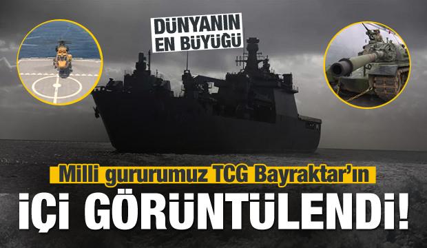 TCG Bayraktar'ın İçi Görüntülendi