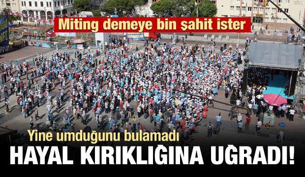 Akşener'e Manisa'da Büyük Şok! Meydan Boş Kaldı