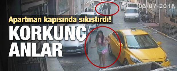 Beyoğlu'nda Kapkaççı Dehşeti Kamerada