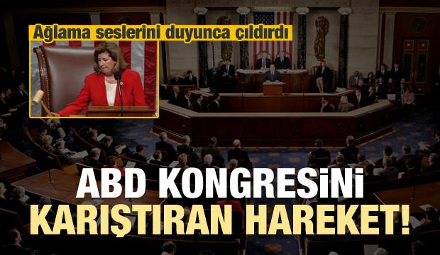 ABD kongresi karıştı! Ağlama seslerini dinletti