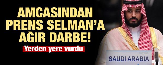 Prens Selman'a amcasından ağır darbe!