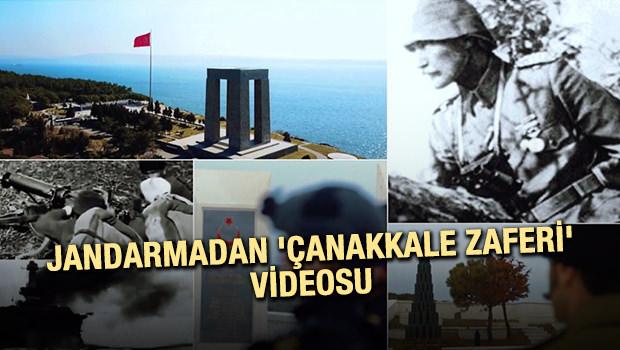 Jandarmadan 'Çanakkale Zaferi' Videosu