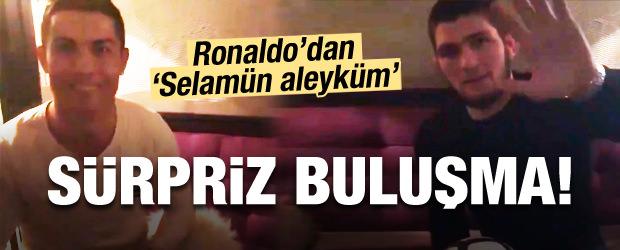 Sürpriz Buluşma! Ronaldo'dan 'Selamün Aleyküm'