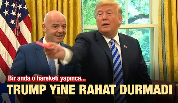 Trump Yine Rahat Durmadı! Infantino...