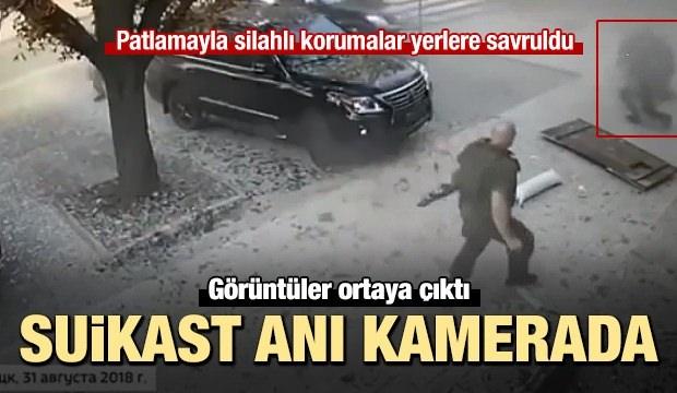 Zaharçenko suikastının görüntüleri ortaya çıktı