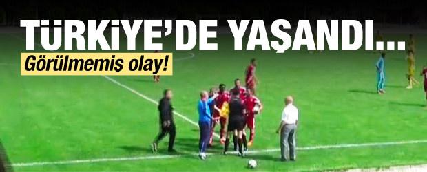Türkiye U21 Ligi'nde Görülmemiş Olay!
