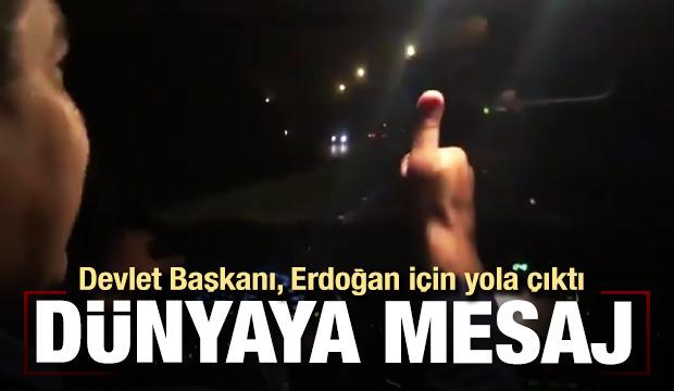Venezuela Devlet Başkanı Erdoğan için yola çıktı