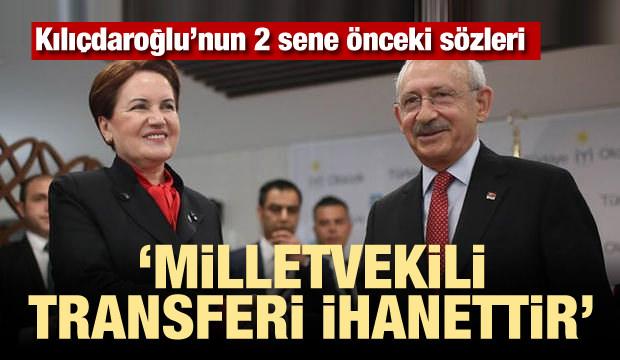 Kılıçdaroğlu: Vekil Transferi İhanettir!