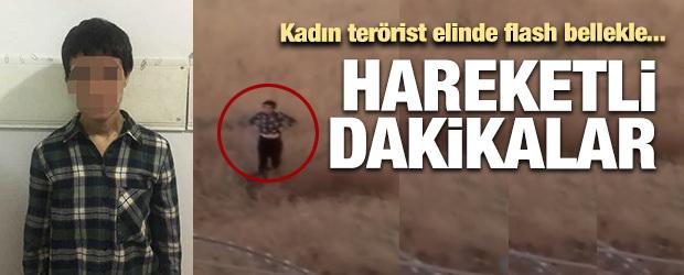 Şırnak'ta kadın terörist teslim oldu!