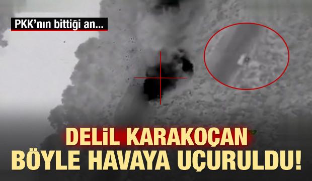 PKK'nın üst düzey ismi böyle havaya uçuruldu