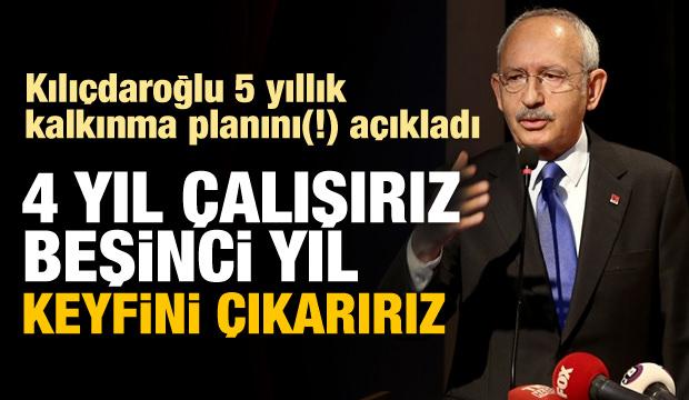 Kılıçdaroğlu: 4 Yılda Çözeriz, 5'inci Yıl Keyfini Süreriz