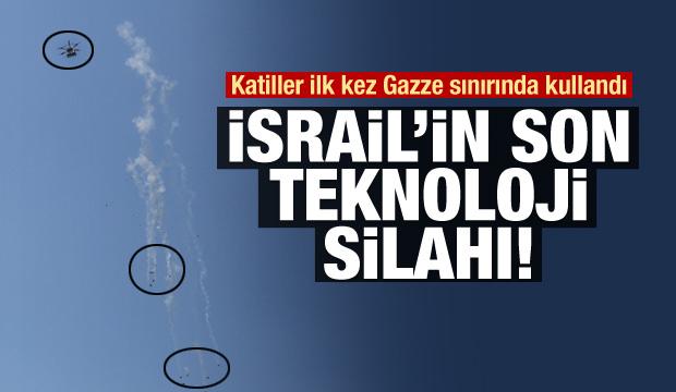 İsrail'in Göz Yaşartıcı Gaz Atabilen İHA'sı