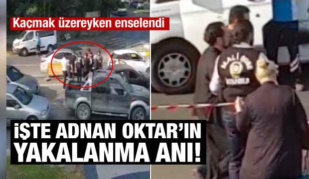 Adnan Oktar'ın Yakalanma Anı Kamerada!