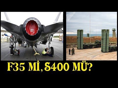 ABD Türkiye'nin S-400 Almasına Neden Kızıyor? S-400'mü Yoksa F-35'mi Daha İyi!