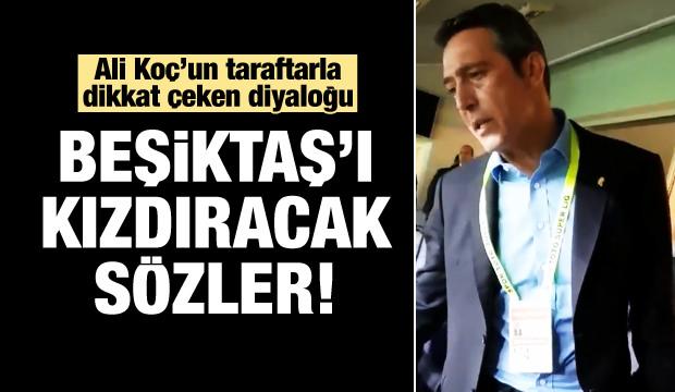 Ali Koç'tan Taraftara: Ezdik Beşiktaş'ı!