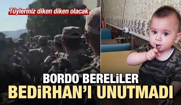 Bordo Bereliler Bedirhan Bebeği Unutmadı! 'Ruhun Şad Olsun Bedirhan Bebek'